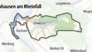 Kart / Laufen-Uhwiesen