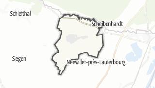 Mapa / Niederlauterbach