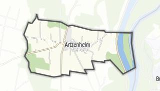 מפה / Artzenheim
