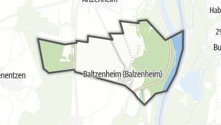 מפה / Baltzenheim