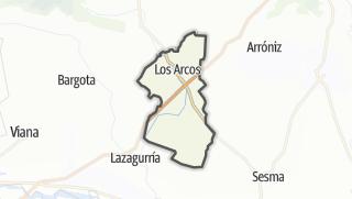 Karte / Los Arcos