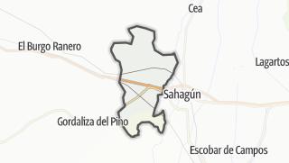 מפה / Calzada del Coto