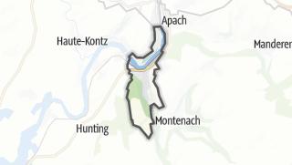 Mapa / Sierck-les-Bains