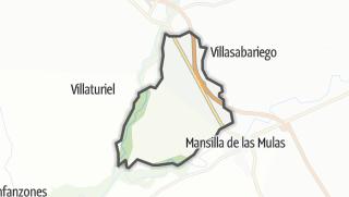 מפה / Mansilla Mayor