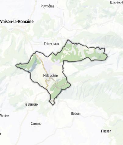 Map / Malaucène