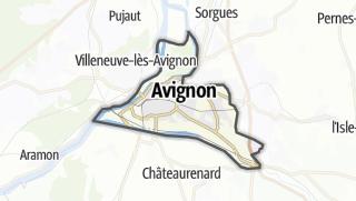 Karte / Avignon