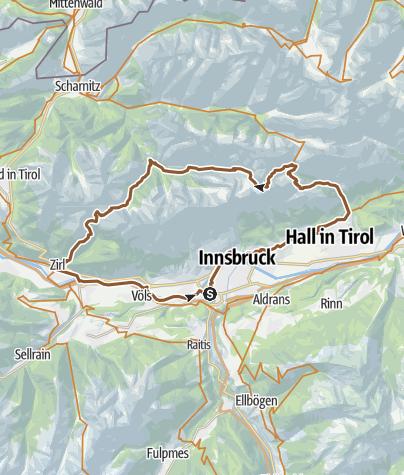 Map / Planning a tour around Pfeishütte