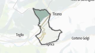 מפה / Villa di Tirano