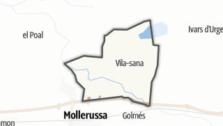 地图 / Vila-sana