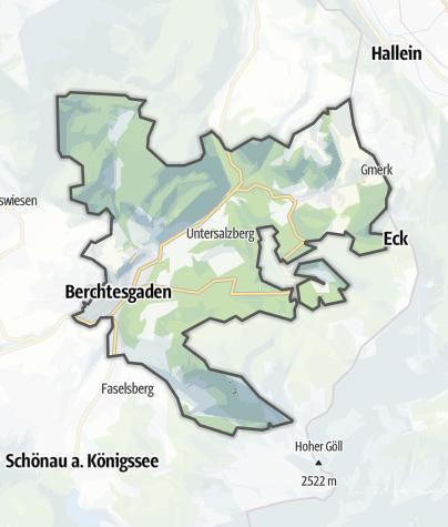 Map / Berchtesgaden