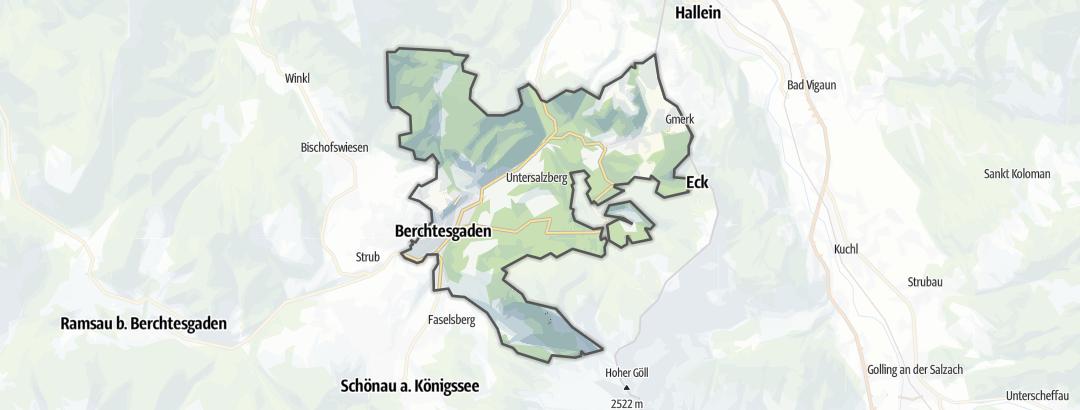Mapa / Prázdninový dům v oblasti Berchtesgaden