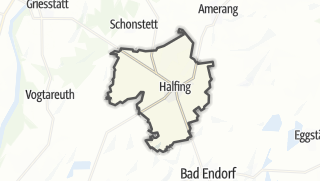 Karte / Halfing