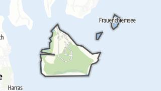 Karte / Chiemsee