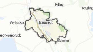 地图 / Traunreut