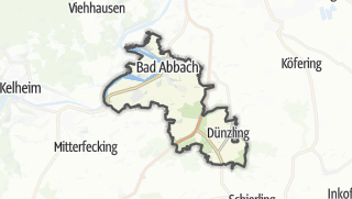 Cartina / Bad Abbach