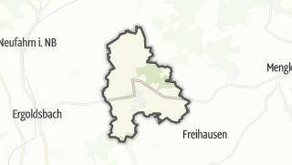 Mapa / Bayerbach bei Ergoldsbach