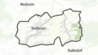 Mapa / Breitbrunn
