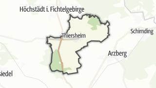 מפה / Thiersheim