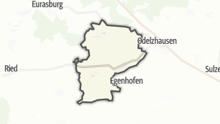 Mapa / Pfaffenhofen an der Glonn
