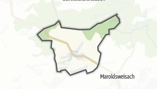 Mapa / Ermershausen