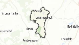 Mapa / Untermerzbach