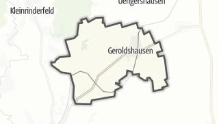 Mapa / Geroldshausen