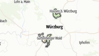 Mapa / Wuerzburg