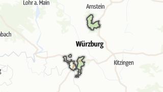 Cartina / Würzburg, comunità non registrata