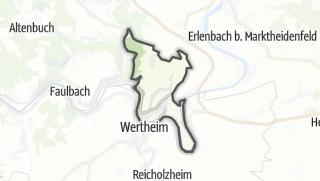 Cartina / Kreuzwertheim