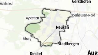 Karte / Neusäß
