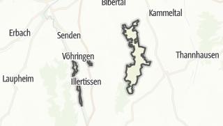Karte / Neu-Ulm, gemeindefreies Gebiet