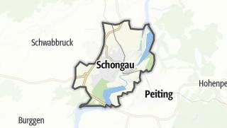 Karte / Schongau