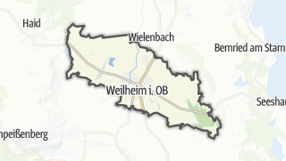 Map / Weilheim in Oberbayern