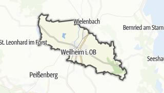 地图 / Weilheim in Oberbayern