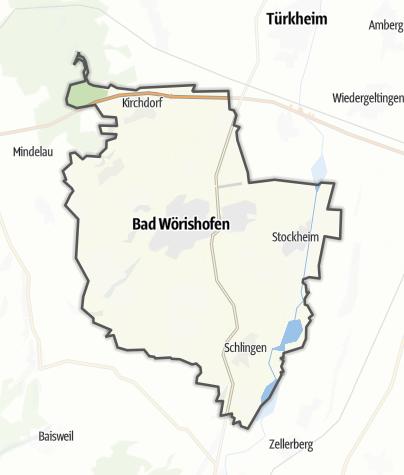 Map / Bad Wörishofen