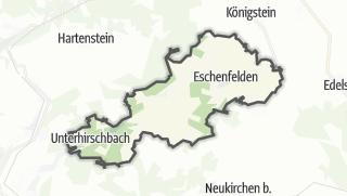 Cartina / Hirschbach