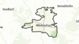 Mapa / Mittelneufnach