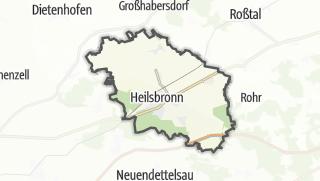 Map / Heilsbronn