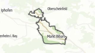 Mapa / Markt Bibart