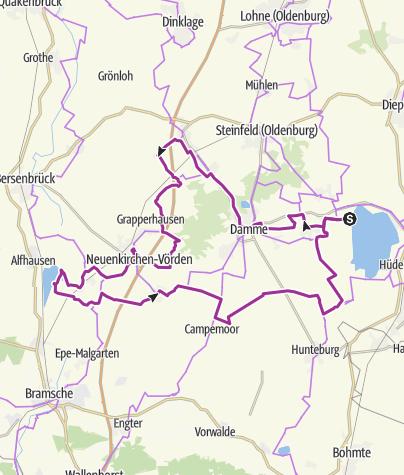 Karte / Seen-Tour
