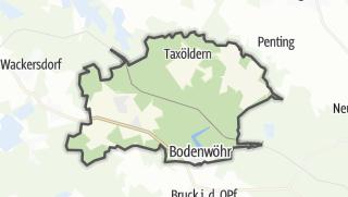 Mapa / Bodenwöhr
