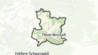 地图 / Titisee-Neustadt