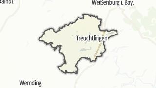 מפה / Treuchtlingen