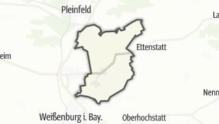 מפה / Höttingen