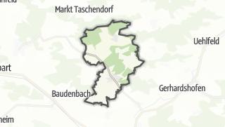Mapa / Münchsteinach