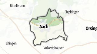 Mapa / Aach