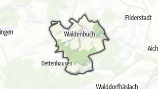 Mapa / Waldenbuch