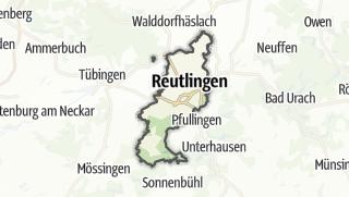 Karte / Reutlingen
