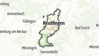 地图 / Reutlingen