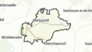 Karte / Eberhardzell